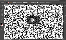 Vídeo desenho à lápis e criação do padrão no Illustrator