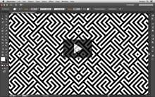Vídeo padrão Labirinto